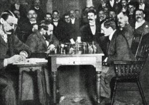 Lasker - Steinitz 1895
