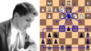 Die Genialität des Boby Fischer/ Bobby Fischer's 21-move brilliancy