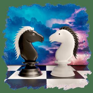 Schachschule 64 - Teil 14: Der Springer im erfolgreichen Einsatz