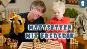 10.000+ Kinder online Schach beibringen: Lektion #4 Schachmatt, Remis & Patt und Mattsetzen mit der Dame