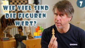 10.000+ Kinder online Schach beibringen: Lektion #6 Wie viel Punkte ist jede Schachfigur wert?