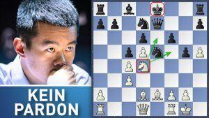Ding Liren vs. Vachier-Lagrave Kandidatenturnier 2021 R9