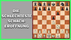 Die schlechteste Schacheröffnung: Damianos Verteidigung