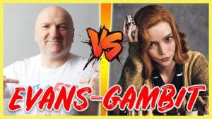Evans-Gambit gegen BETH HARMON