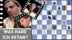 Der legendäre Fehler von Garry Kasparov