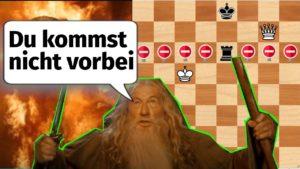 Dame gegen Turm Schach Endspiel