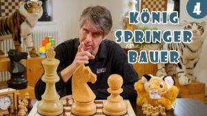 10.000+ Kinder online Schach beibringen: Lektion #3 Die Schachfiguren: König, Springer & Bauer