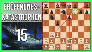 Eröffnungskatastrophen #15: Die Springerbombe auf f7 ?