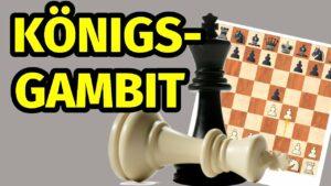 Königsgambit: Einführung in das gefährliche Gambit