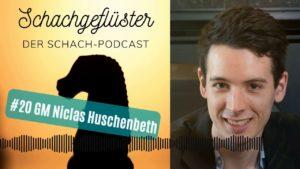 Schachgeflüster: Der deutsche Meister Niclas Huschenbeth zu Gast