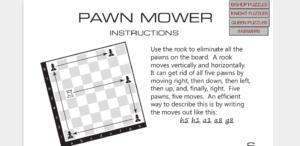 PAWN MOWER - Minispiele für das Erlernen der Figuren