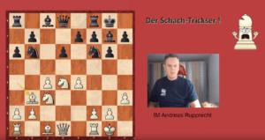 Schach-Trickser #4: Vergifteter Bauer